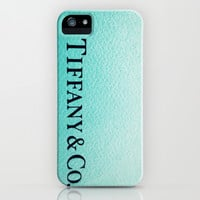 Tiff Any iPhone & iPod Case by Christine Leanne