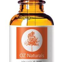 OZ Naturals - The BEST Vitamin C Serum For Your Face Contains Vitamin C + E + Hyaluronic Acid Serum - Potent 20% Vitamin C Will Leave Your Skin Radiant & More Youthful Looking By Neutralizing Free Radicals - HIGHEST QUALITY C SERUM AVAILABLE!: Amazon.ca: B