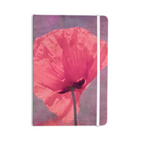 "Iris Lehnhardt ""Poppy"" Pink Flower Everything Notebook"