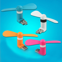 Pocket Fans USB Gadget Portable Summer Micro USB Cooling Fan Mini Fan Universal For Xiaomi Android OTG Phones Power Bank Laptop