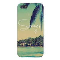 Summer Love Vintage Case iPhone 5 Cases from Zazzle.com