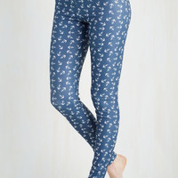 Nautical Skinny Fresh Take Leggings in Anchors
