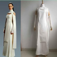 Custom Made Adult Women's Star Wars Sheltay Retrac Cosplay Dress Costume