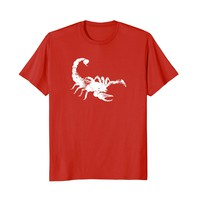 Vintage Scorpion T Shirt - Classic Distressed Scorpion Shirt