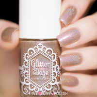 Glitter Daze Lion in the Nude Nail Polish