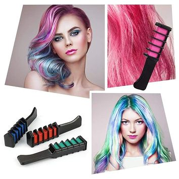 1PC 6Colors Temporary Hair Chalk Color
