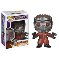 Funko POP! Guardians of the Galaxy Movie - Vinyl Bobble - STAR LORD (Pre-Order ships July): BBToyStore.com - Toys, Plush, Trading Cards, Action Figures & Games online retail store shop sale