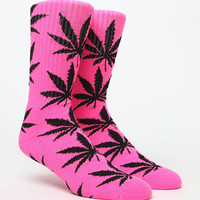 HUF Highlighter Plantlife Crew Socks at PacSun.com