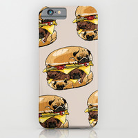 Pugs Burger iPhone & iPod Case by Huebucket