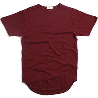 Original Long T-Shirt Burgundy
