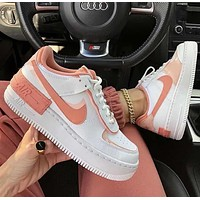 Nike Air Force 1 Shadow women's low-top colorblock sneakers shoes