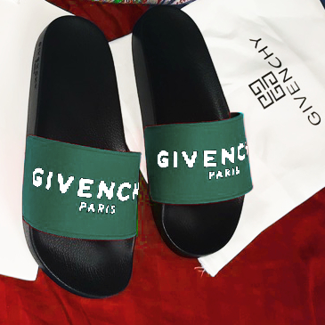 Image of Givenchy Women Men Letters Sandals Slippers Shoes