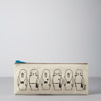Stacy Michelson Walrus Seal Pencil Case