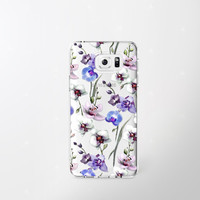 Floral Samsung Galaxy Note 5 Case Clear Floral iPhone 6 Case Samsung Galaxy Note 4 Case Samsung Galaxy S7 Case Floral Samsung Galaxy S6 Case