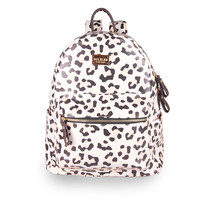 Back To School Hot Deal Comfort Casual College Stylish On Sale Fashion Ladies Pink Leopard Winter Lovely Backpack [4915452612]