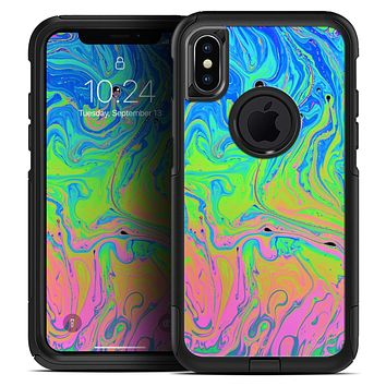 Neon Color Swirls - Skin Kit for the iPhone OtterBox Cases