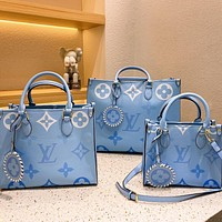 Louis Vuitton LV Onthego By the Pool Tote Bag Tote Bag Shoulder Bag
