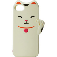 Kate Spade New York Cat Silicone Phone Case for the iPhone 5 and 5s