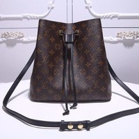 LV Louis Vuitton MONOGRAM CANVAS NEONOE INCLINED SHOULDER BAG-KUYOU