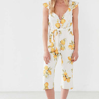 For Love & Lemons Limonada Tie-Front Jumpsuit | Urban Outfitters