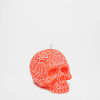 CANDLE WITH A RAISED SKULL DESIGN - Candles - Decor | Zara Home United States of America