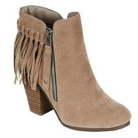 Fringe Booties - FINAL SALE