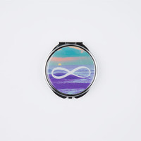 Infinity Compact Mirror Purple One Size For Women 26222575001