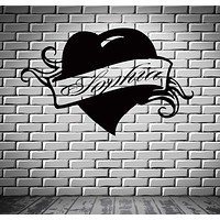 Wall Stickers Vinyl Decal Sophia Personalized Name Lettering Custom Unique Gift z991