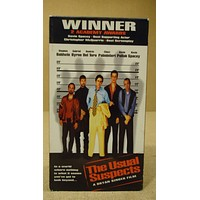 Poly Gram The Usual Suspects VHS Movie  * Plastic * -- Used