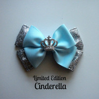 Cinderella Bow   Limited Edition  by littlebowchicdesigns on Etsy