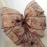 French Romance Inspired Bow for Valentine's Day Decor from A Bow For Mama