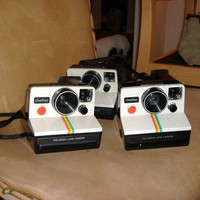 Polaroid OneStep SX-70 White/Rainbow Camera