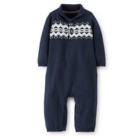 Baby Boy (NB-9M) Carter's Sweater Coverall   Boscov's