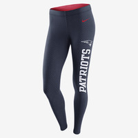 The Nike Tailgate Leg-A-See (NFL Patriots) Women's Tights.