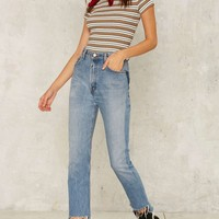 After Party by Nasty Gal Kennedy Striped Tee