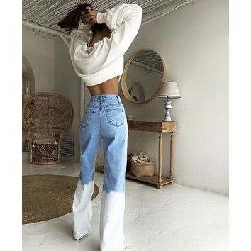 Whiteout High Rise Vintage Stone Jeans