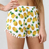 Women Lady Sexy Jersey Shorts Summer Casual Cotton High Waist Beach Pants S-XL