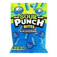 Sour Punch Bites Blue Raspberry