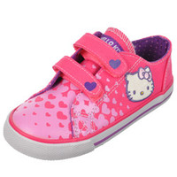 Hello Kitty Girls -Hearts Transform Low-Top Sneakers (Toddler Sizes 5 - 10)-hek02501