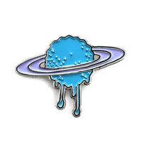 Melty Saturn Pin