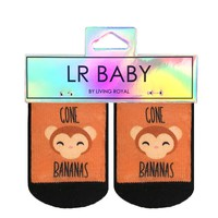Gone Bananas Baby Socks
