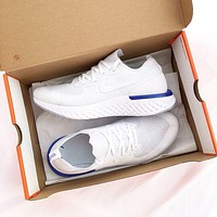 Nike Epic React Flyknit Light casual running shoes-1