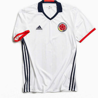 adidas Colombia Home Soccer Jersey - Urban Outfitters