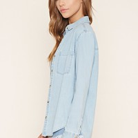 Denim Buttoned Shirt