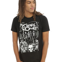 My Chemical Romance The Black Parade Lineup T-Shirt