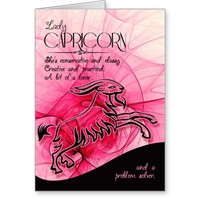 The Man Who Loves You | Lady Capricorn Card