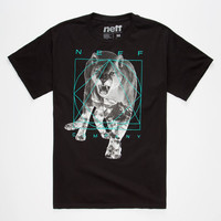 Neff Predator Mens T-Shirt Black  In Sizes