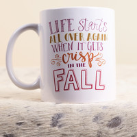 Crisp in the Fall Mug | The Scribble Studio