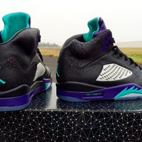 BC SPBEST Custom Nike Air Jordan 3Lab5 Grape