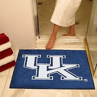Kentucky Wildcats Bath Mat Shower Area Rug